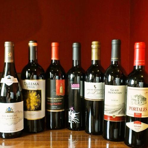 ワインと馬肉のマリアージュをお楽しみください♪(グラス・ボトル)