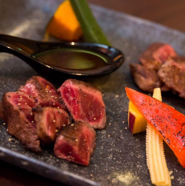 ◆ A5 ranked Kuroge Wagyu ◆ various steaks