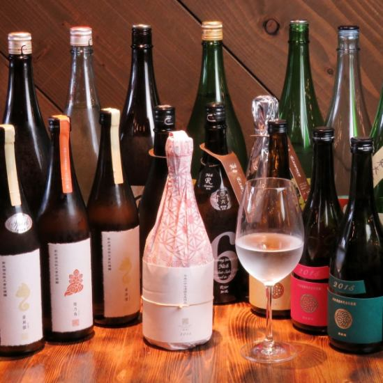 We are preparing sake to suit fresh seafood! Photo shows Shinmasa series ♪