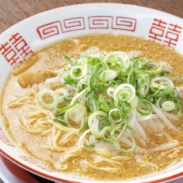 Continue to be loved for 10 years in Mita 【Rich aged sesame miso ramen】 Sweet mouth - It is adjustable to your favorite hotness of 6 levels until painful ◎