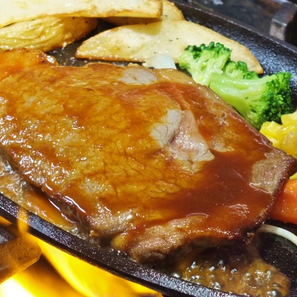 Riblose steak