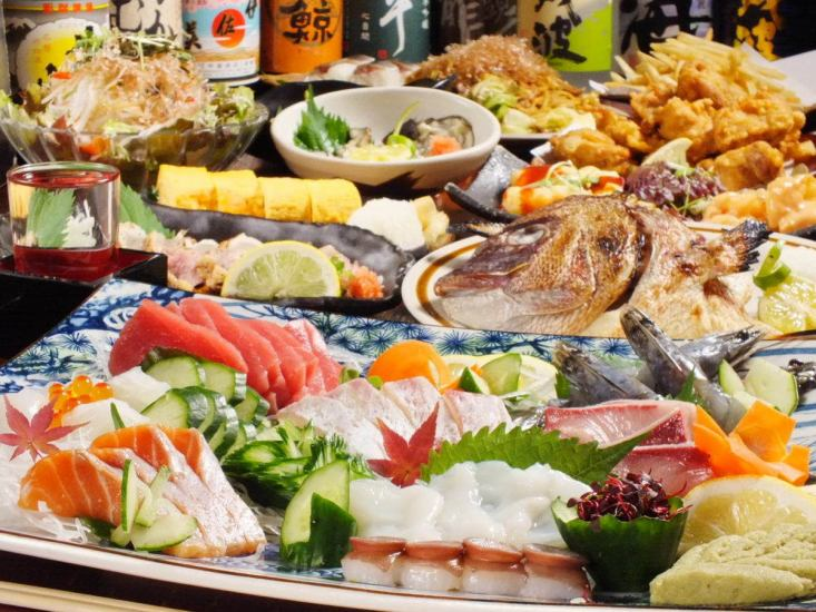 There is confidence in the effect of the seafood tavern ♪ sake of assortment and fish dishes that are a long drifting retro atmosphere!