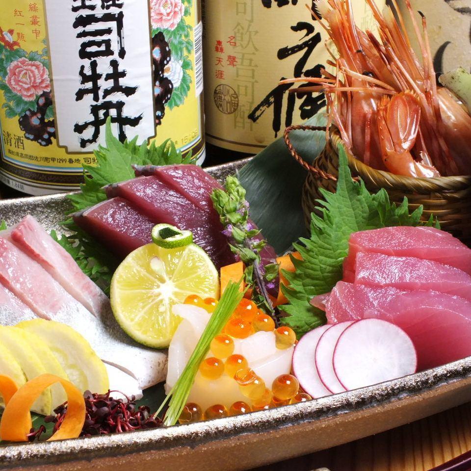 在生產區直接吃當地捕獲的新鮮魚和時令魚!