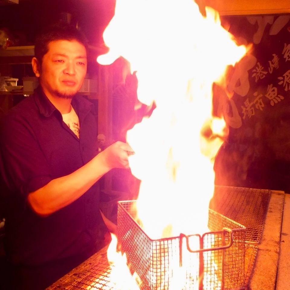 強大的滿分!木炭燒烤!
