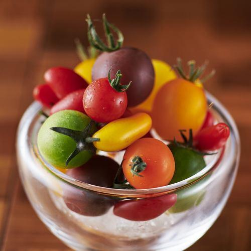 Vinの産直冷やしトマト