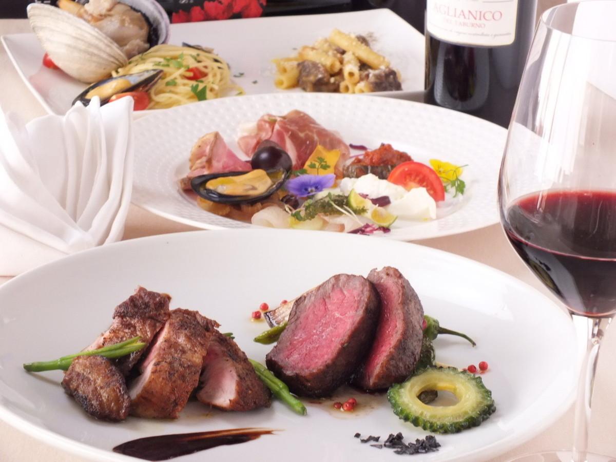 Beautiful cuisine menu