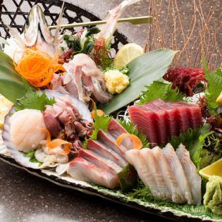 Assorted sashimi platter 5 points / seven points