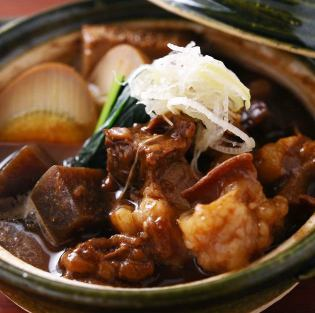 Potato miso stew