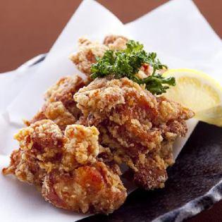 Deep-fried chicken in the Miyazaki area