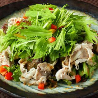 Caesar salad / cold shabu salad