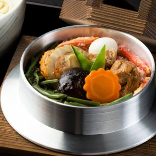 Gokomon with five vegetables