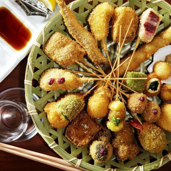 Offer selected skewers for skewers! 3h Banquet plan with all you can drink from 2,500 yen! 2 ~ prepared for private room ♪ perfect for samai meeting