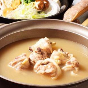 """[有限公司,3小时任您畅饮+肥后Akaniwatori的9道菜,包括熟水""""煮在锅中课程"""""""