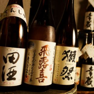 【Hot Pepper Limited】 Premium all you can drink 2H 3500 yen ⇒ 2800 yen Brand name Japanese sake · Shochu is all you drink!