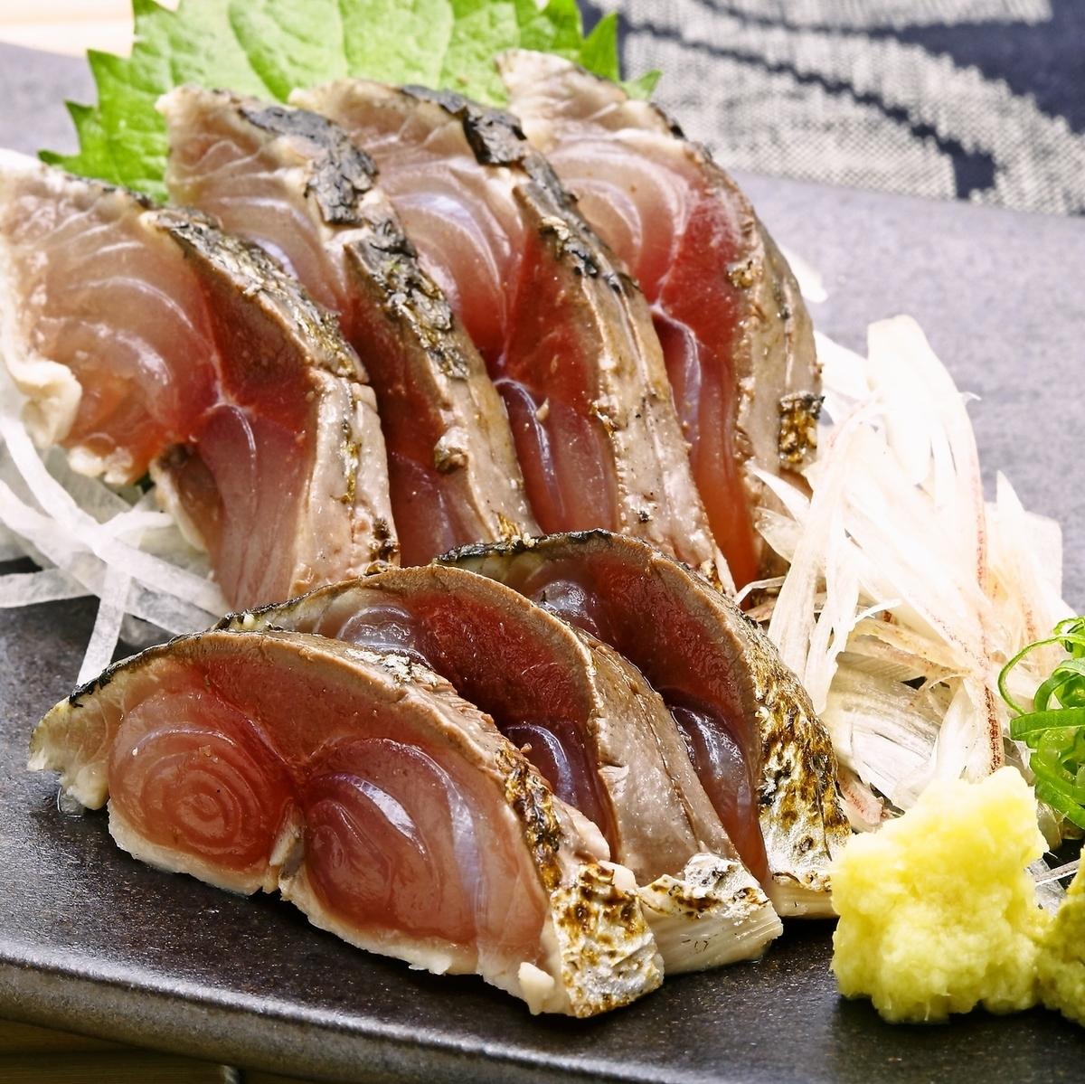 Shimizu Mackerel Sashimi / Shimizu Mackerel的握把