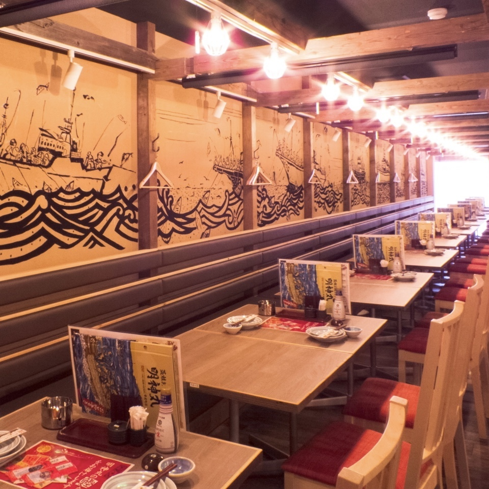 Occasionally open table for work drinking party, spacious space ♪ Seats are movable, so you can connect up to 40 people! Banquet reservations with a large number of people are welcome!