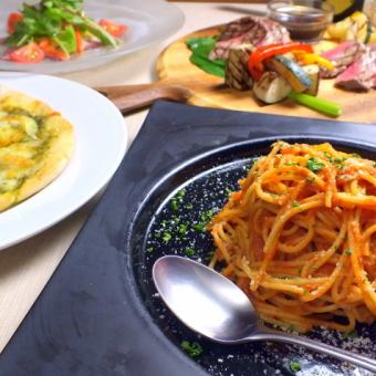 """【Recommended for Gatsuguri men】 ◎】 """"2 H with drink all-you-can-eat"""" All 8 items 5000 yen ★ satisfied course"""