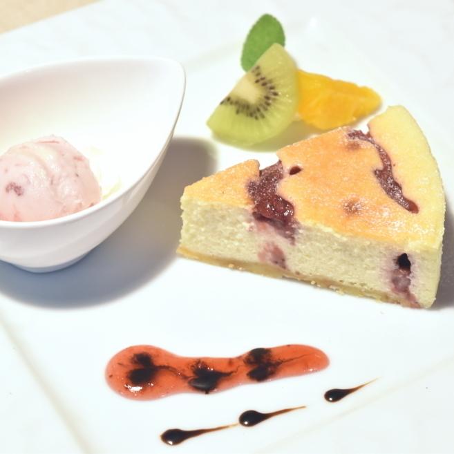 딸기의 뉴욕 치즈 케이크