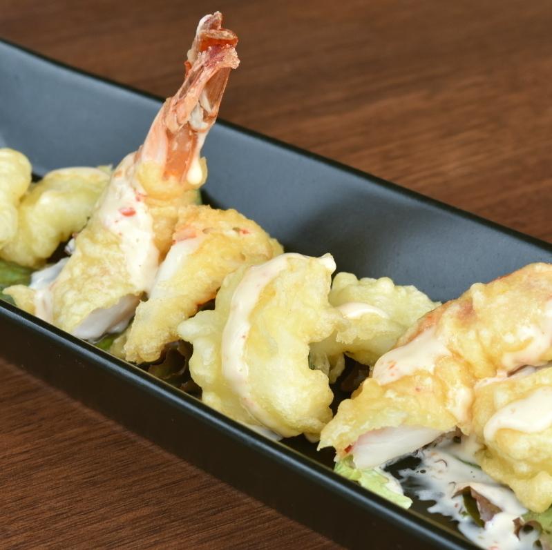 새우와 오징어 튀김