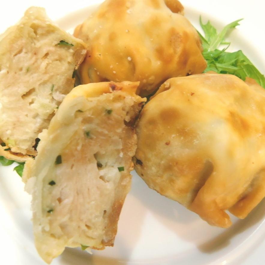 나루토 연근과 소고기의 바삭 바삭한 튀김
