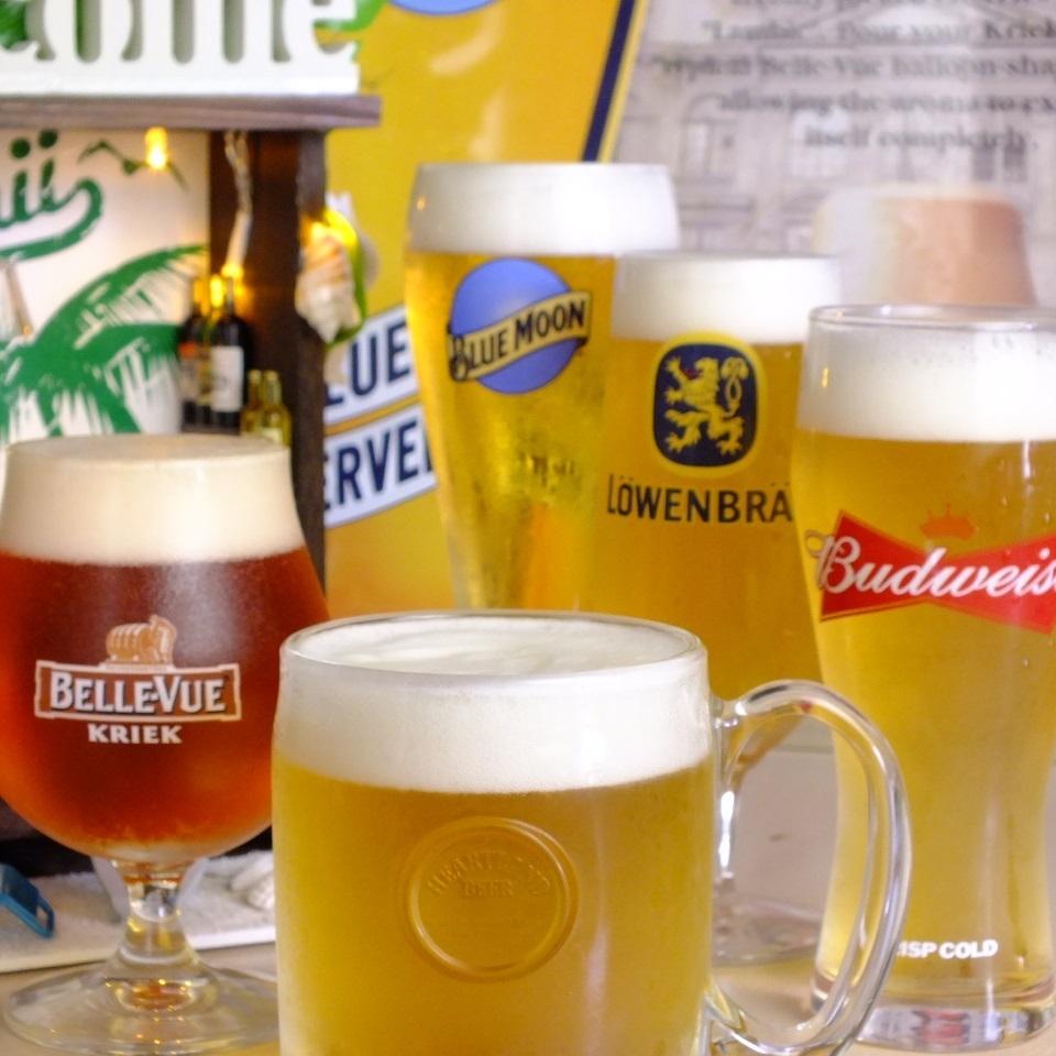 고집 다른 가게에서는 취급이없는 맥주 각종도 준비 !!