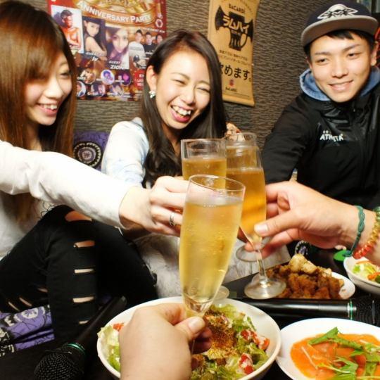 【Waiwai派对♪】大理石推荐包机课程2小时,所有你可以喝4000日元