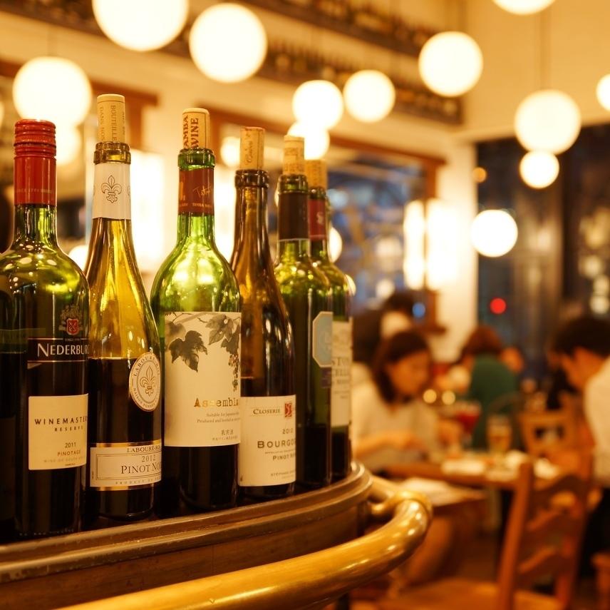 다양한 종류의 와인과 요리사 자랑 요리에서 최고의 시간을 제공!