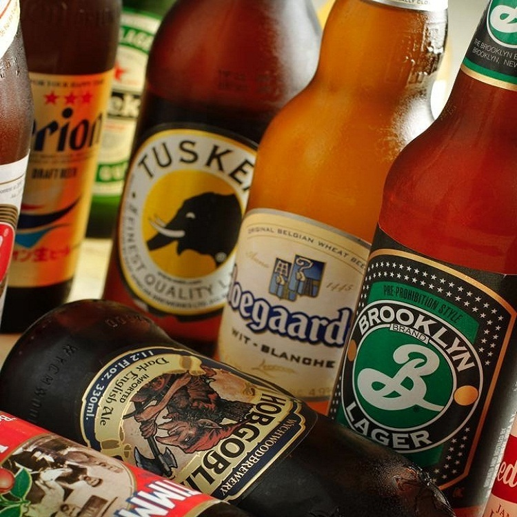 We have abundant beers in the world from Hugarden to Orion !!