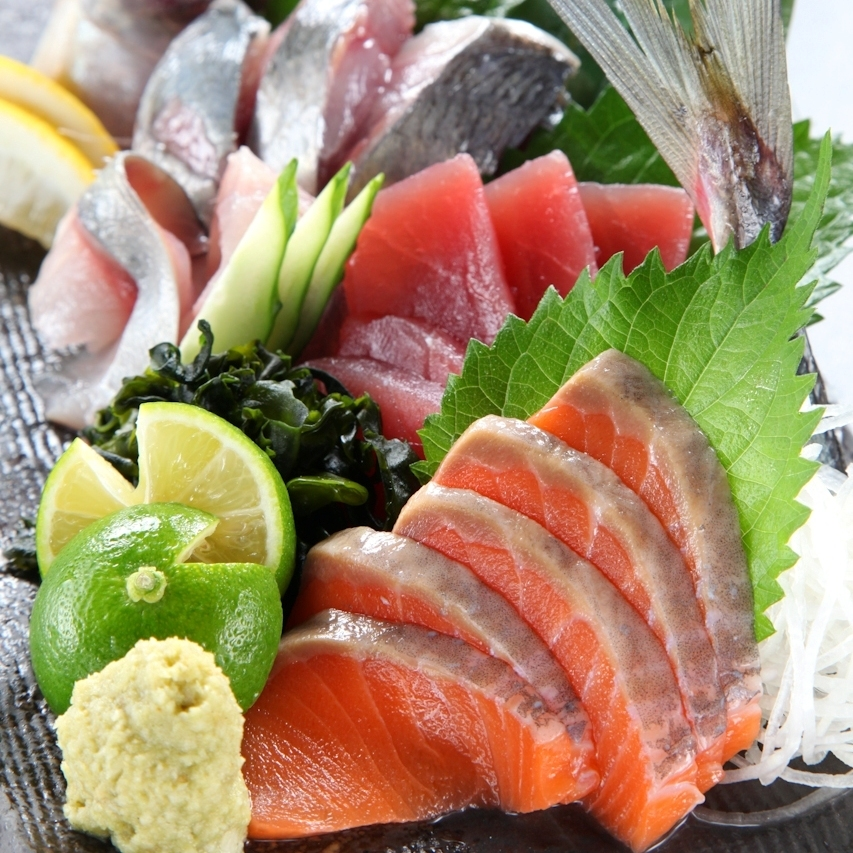 All you can eat and drink Sannomiya boasts as much as you like fresh seafood