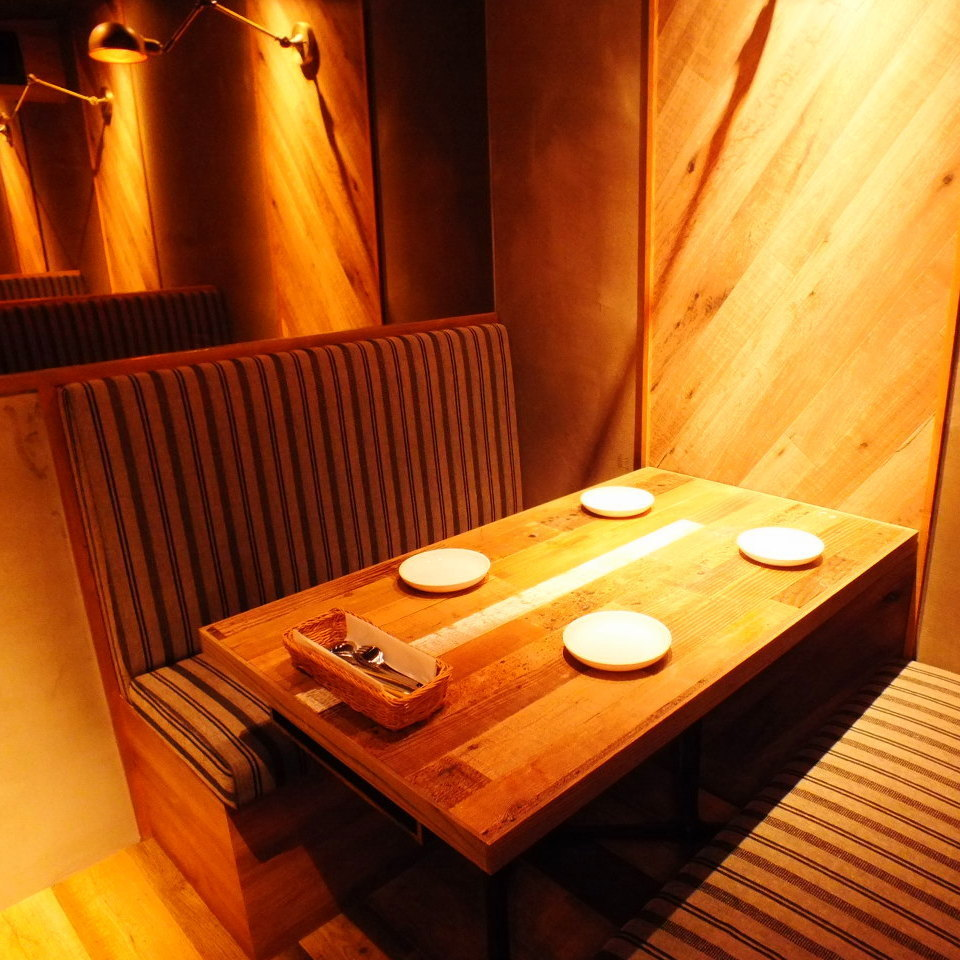 Stylish space supervised by designers ★ The meat girls' association is also inside the perfect atmosphere.