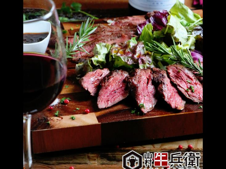 Produced by a butcher ★ A variety of boastful meat dishes such as homemade sausages are abundant!