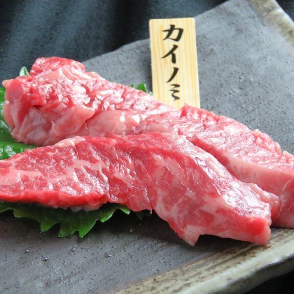 【黒毛和牛 カイノミ】ヒレとサーロインのハイブリッド!?脂の濃厚な甘みと柔らかな肉質の赤身肉!