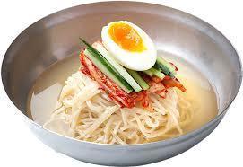 Korean cool noodles