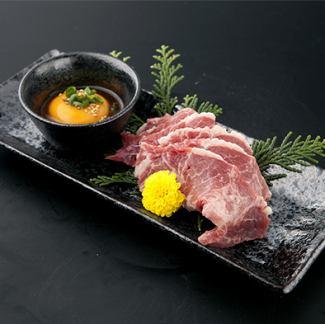 Zabuton grilled oyster / Misuji Grated Ponzu