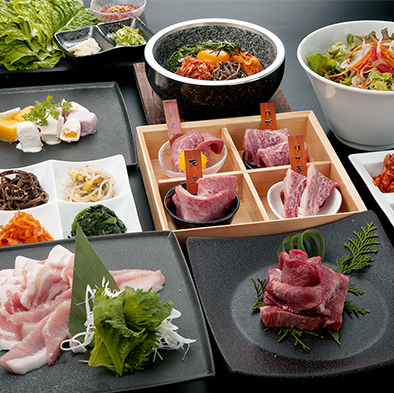 Selected meat course 2380 yen ☆