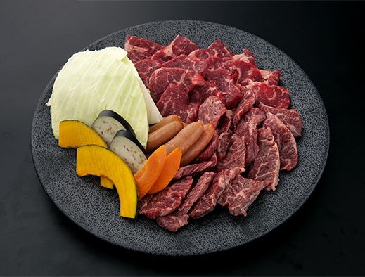 Grilled fresh meat (400 g)