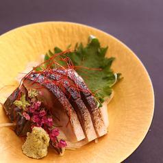 金華沖炙りのシメサバ