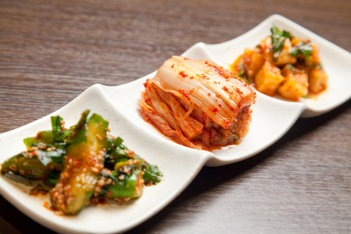 Assorted 3 kinds of kimchi