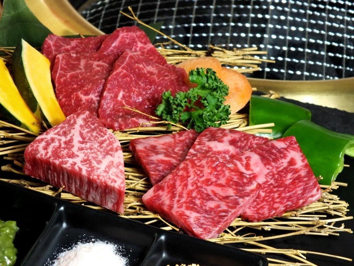 ★ Including fins, 3 kinds of lean served
