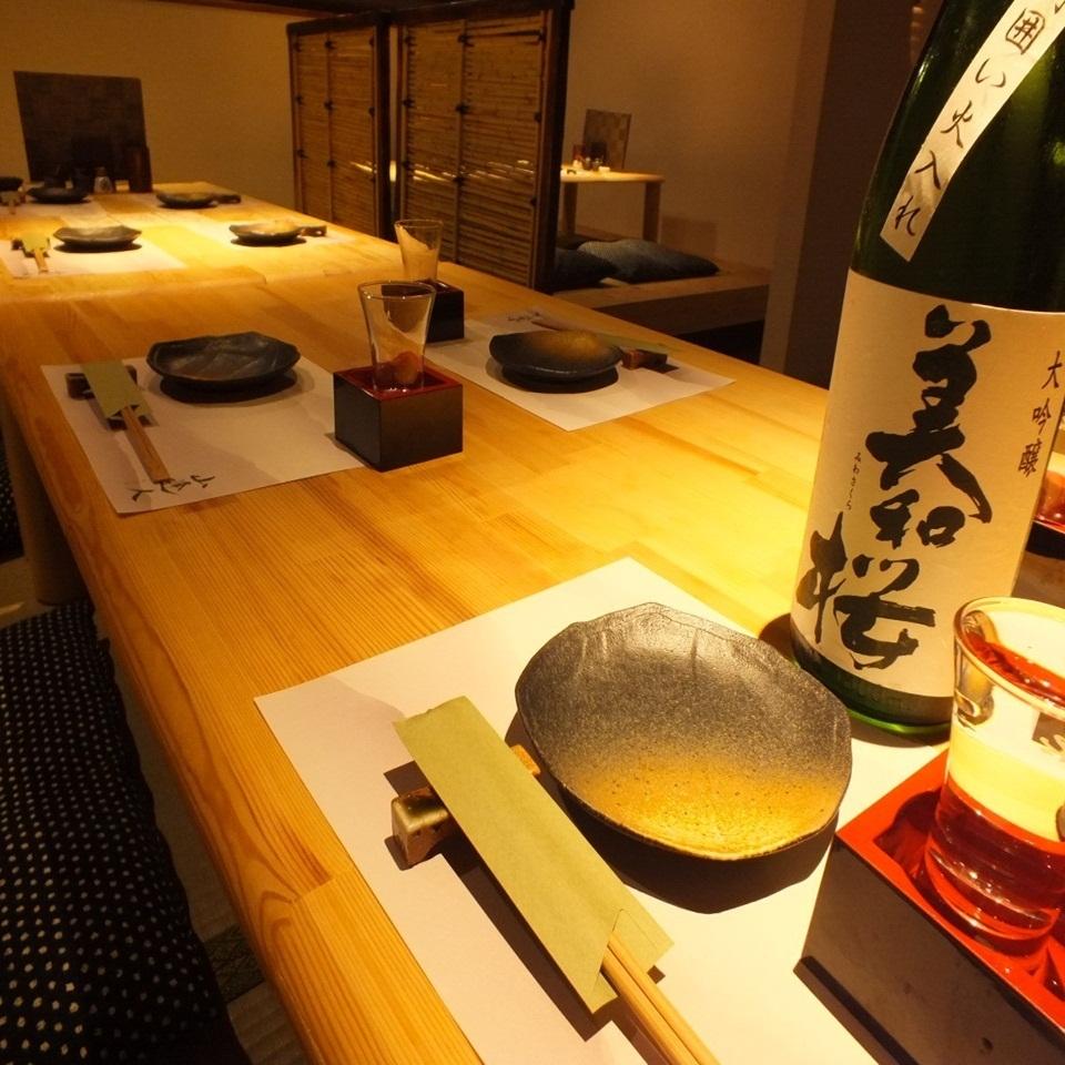 享受日本的空間。