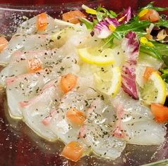 鮮魚カルパッチョ