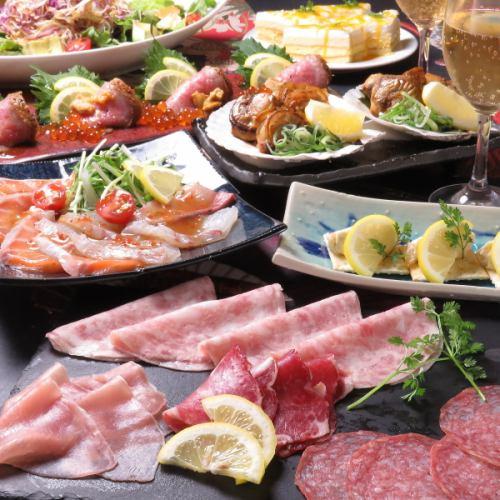 お魚ときどき肉宴会コース