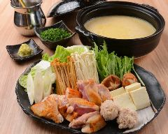 ≪濃厚≫鶏の黄金スープ鍋 一人前
