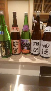 本日、新しい日本酒入