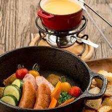 【*限時女孩套餐*】2小時飲料+ 8個自製奶酪火鍋用品2480日元(女子協會·媽媽)