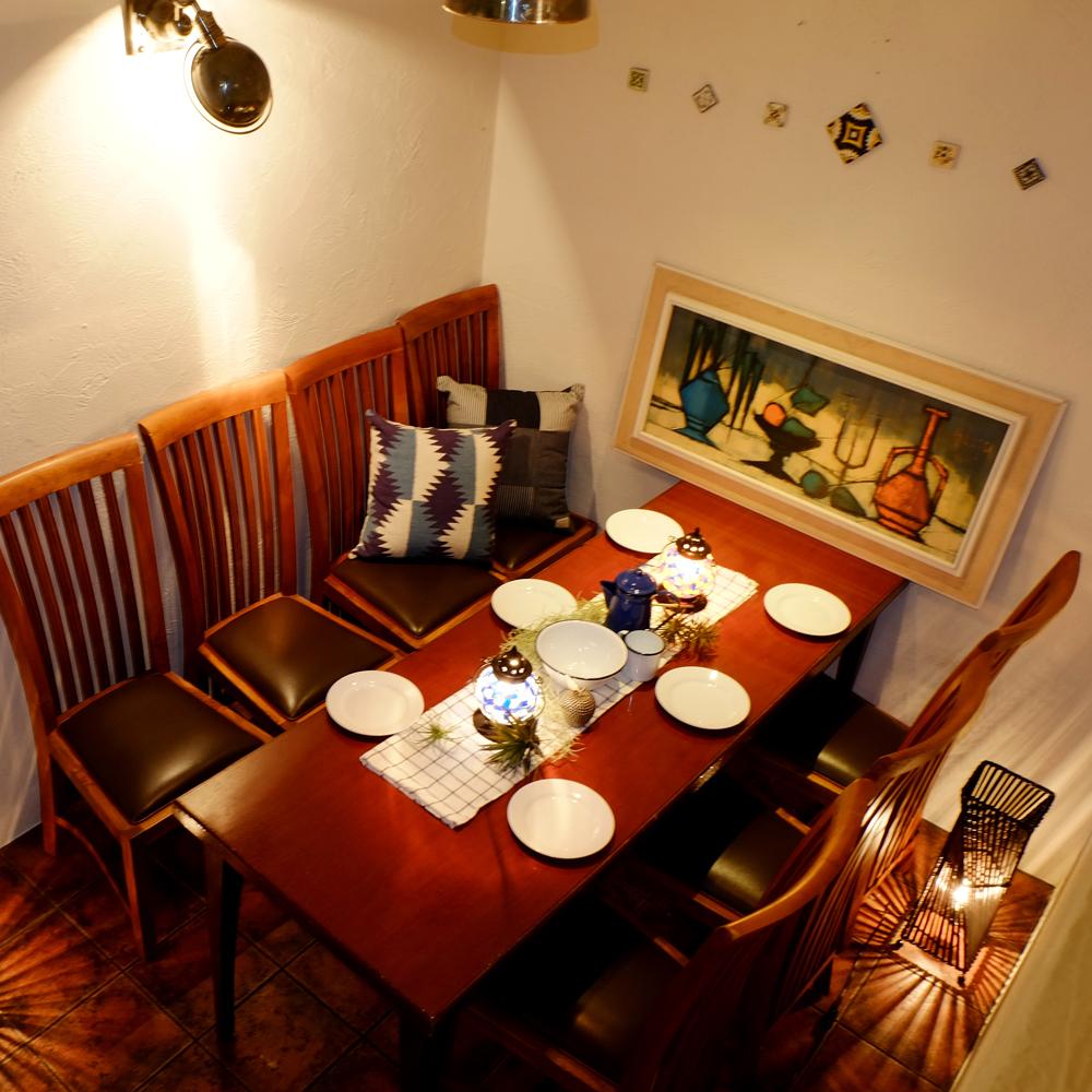 私人房间有2至6位客人♪妇女协会·饮酒派对◎