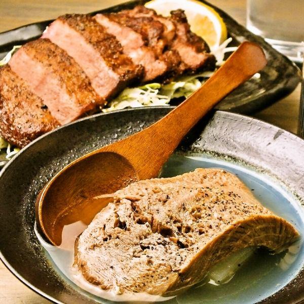 新八特产!煮牛肉牛腌盐烤