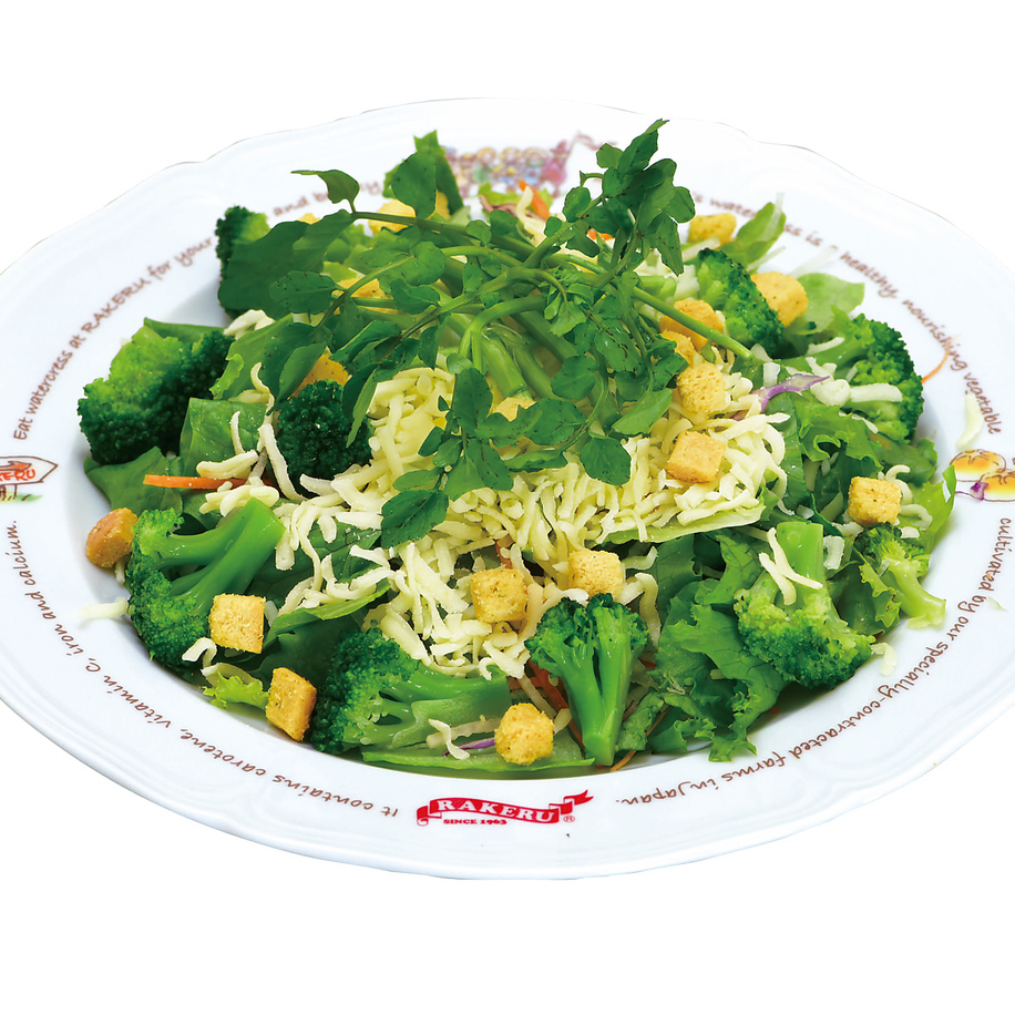 Plenty of cheese salad (Rachel dressing)