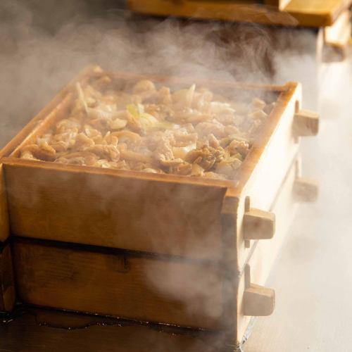 카가와 명물! 바지락 밥을 당점 자신의 고집 조리법으로 제공