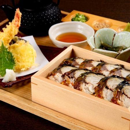 焼きトロ鯖のひつまぶし御膳